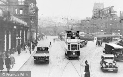 Bradford, Forster Square c.1935