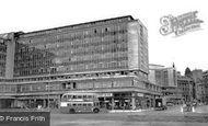 Bradford, Forster Square c1965