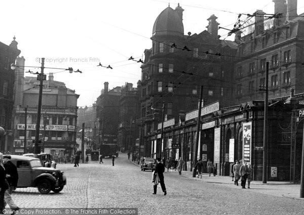 Bradford, Forster Square Station c.1950