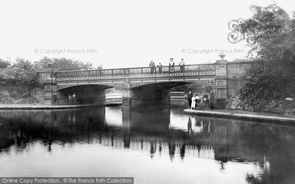Photo of Bradford, Horton Park Bridge 1897