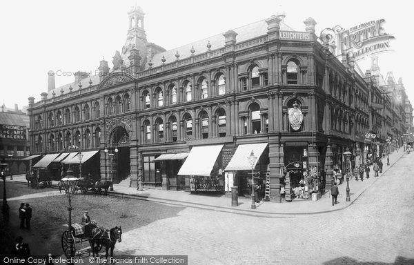Photo of Bradford, Kirkgate, Market Buildings 1897