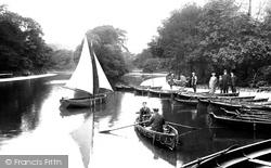 Bradford, Lister Park Lake 1921