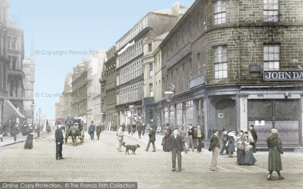 Photo of Bradford, Market Street 1897