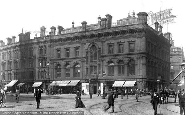 Photo of Bradford, Mechanics' Institute, Market Street 1897