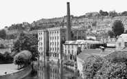 Bradford-on-Avon, Abbey Mill And Tory c.1955