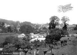 Bradford-on-Avon, Barton Bridge 1914