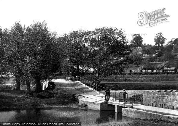 Bradford On Avon, Barton Bridge 1914