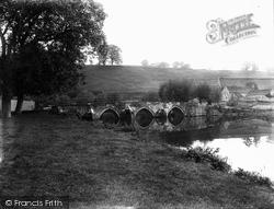 Bradford-on-Avon, Barton Bridge c.1900