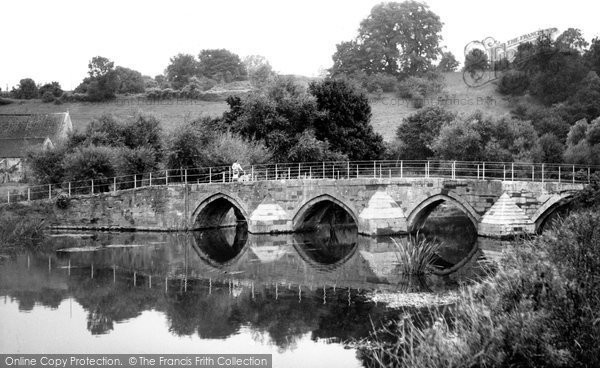 Bradford On Avon, Barton Bridge c.1950
