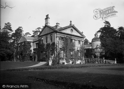 Bradford-on-Avon, Belcombe Court c.1900