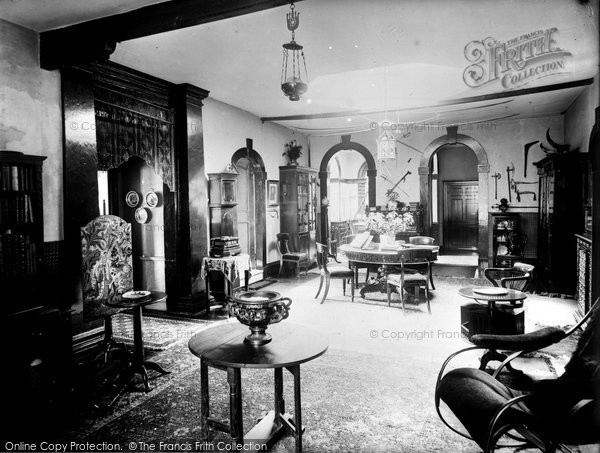 Bradford On Avon, Chantry Interior c.1900