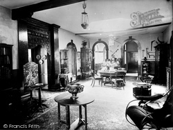 Bradford-on-Avon, Chantry Interior c.1900