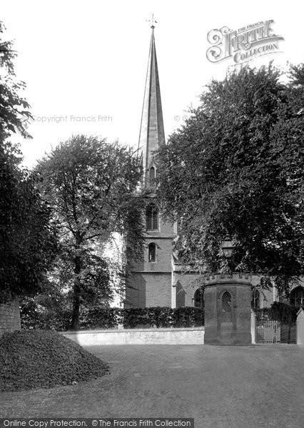 Bradford On Avon, Christ Church 1914