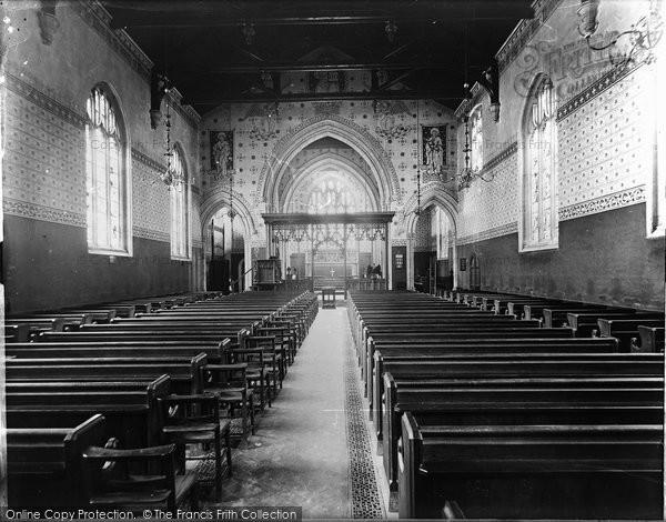 Bradford On Avon, Christ Church Interior c.1900