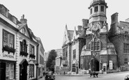 Bradford-on-Avon, Church Street c.1945