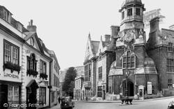 Bradford-on-Avon, Church Street c.1945