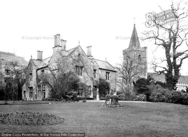 Bradford On Avon, Holy Trinity Church And Vicarage 1914