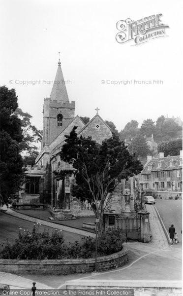 Bradford On Avon, Holy Trinity Church c.1955