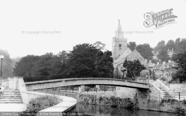 Bradford On Avon, Holy Trinity Church c.1965