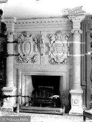 Bradford-on-Avon, Kingston House, A Fireplace c.1900