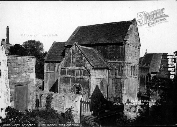 Bradford On Avon, Old Saxon Church 1914
