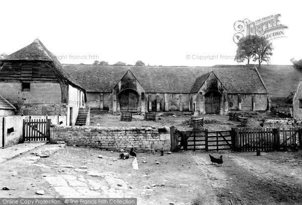 Bradford On Avon, Old Tithe Barn 1900