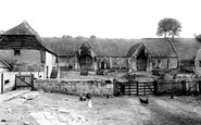 Bradford-on-Avon, Old Tithe Barn 1900