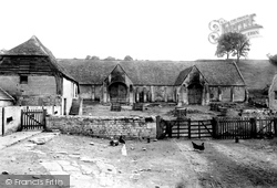 Bradford-on-Avon, Old Tithe Barn 1900