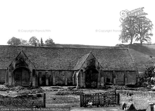 Bradford On Avon, Old Tithe Barn 1914