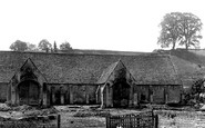 Bradford-on-Avon, Old Tithe Barn 1914