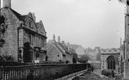 Bradford-on-Avon, Orpins House, Church Street c.1900
