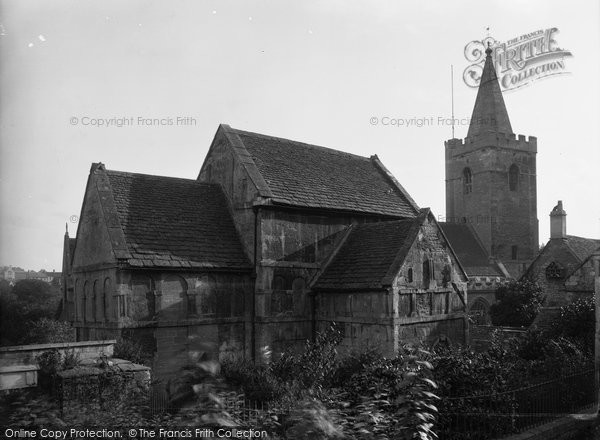 Bradford On Avon, Rear View Of Saxon Church c.1900