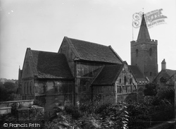 Bradford-on-Avon, Rear View Of Saxon Church c.1900