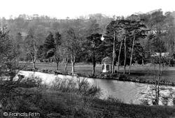 Bradford-on-Avon, River Avon 1914