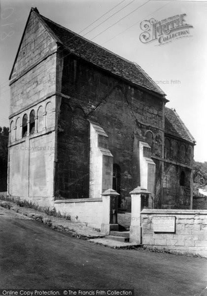 Bradford On Avon, Saxon Church c.1955