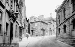 Bradford-on-Avon, Silver Street 1900