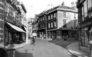 Bradford-on-Avon, Silver Street c.1955