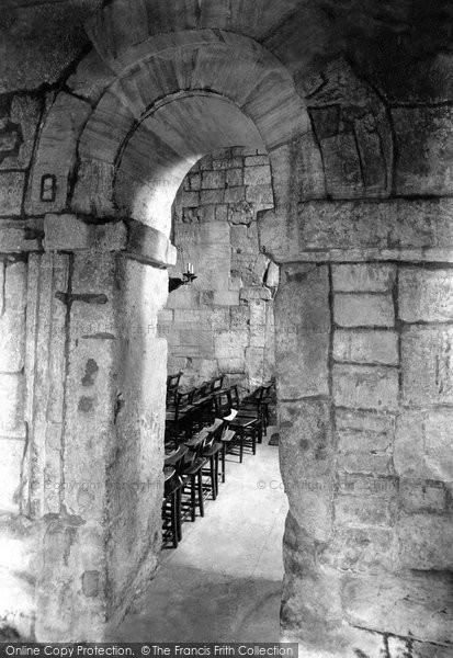 Bradford On Avon, St Laurence's Saxon Church, The Interior 1900