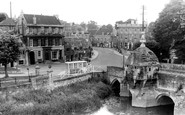 Bradford-on-Avon, The Blind House And Bridge c.1950