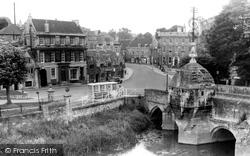 Bradford-on-Avon, The Blind House And Bridge c.1950