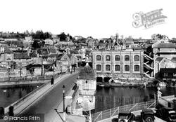 Bradford-on-Avon, The Bridge c.1939