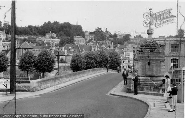 Bradford On Avon, The Bridge c.1955