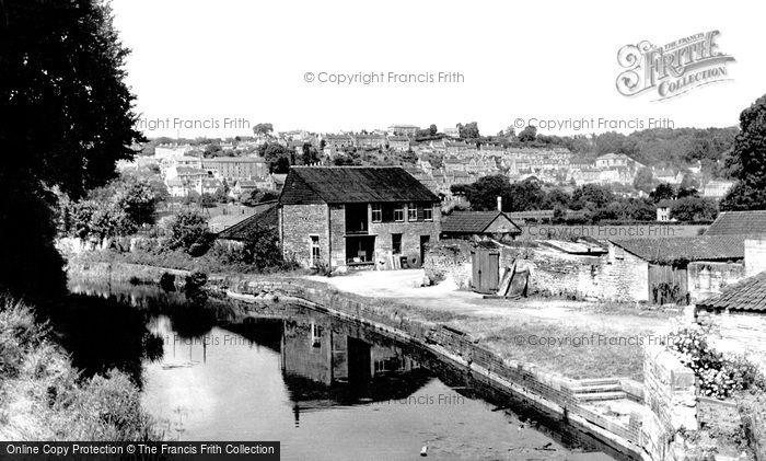 Bradford On Avon, The Canal c.1955