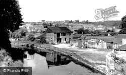 Bradford-on-Avon, The Canal c.1955