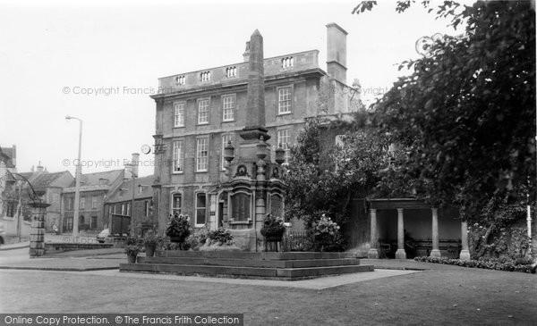 Bradford On Avon, The Gardens c.1955