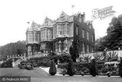 Bradford-on-Avon, The Hall, Kingston House 1900