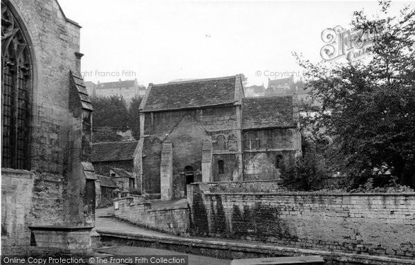Bradford On Avon, The Saxon Church c.1960