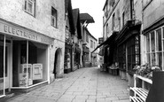 Bradford-on-Avon, The Shambles c.1955