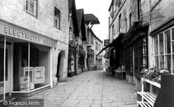 Bradford-on-Avon, The Shambles c.1955