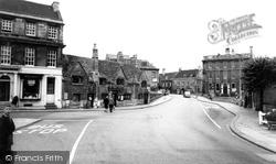 Bradford-on-Avon, The Three Gables c.1955